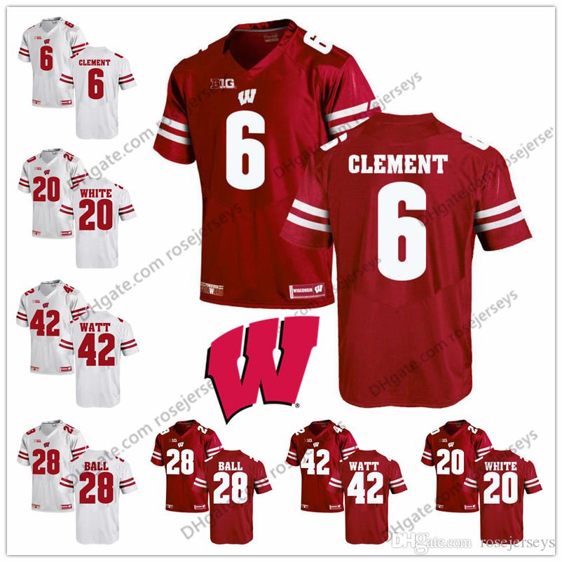 james white wisconsin jersey