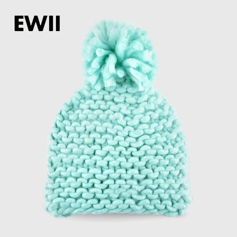 2015 Woman Winter Hats Beanie Girl Harajuku Caps Coarse Lines Hand  Crocheted Acrylic Fiber Wool Hat Ladies Knit Hats Beanies Beanies For Girls Baby  Hat From ... 6fa9a167e1