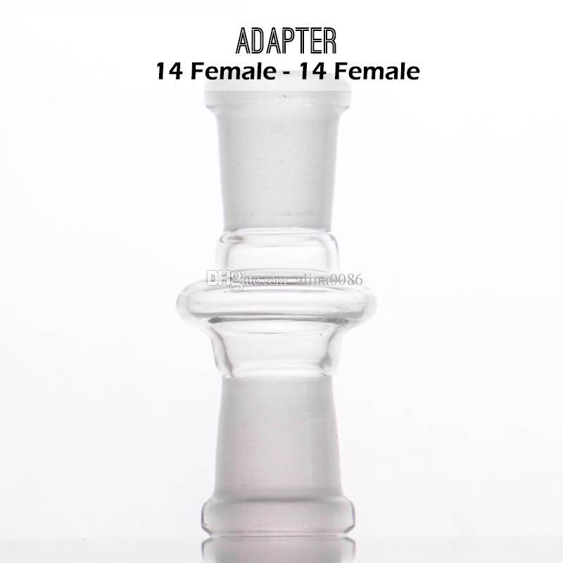 Fabbricante di vetro adattatore di design mix giunto femmina tubo di tabacco da pipa in vetro glss bong maschio jiont usato