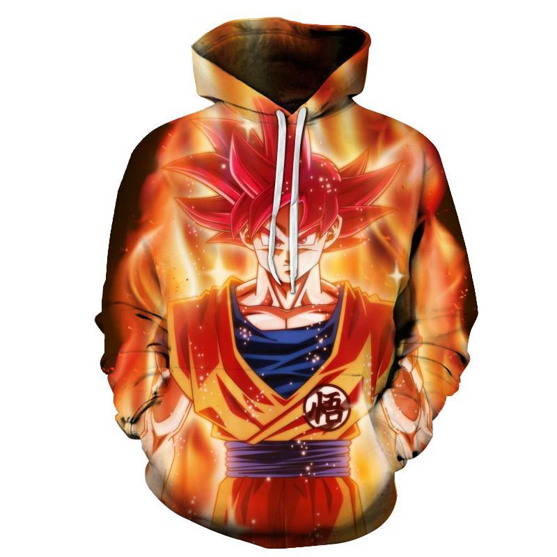cd9573180 Dragon Ball 3D Hoodie Sweatshirts Men Women Hoodie Dragon Ball Z Anime  Fashion Casual Tracksuits Boy Jackets Hooded Pullover S18101705