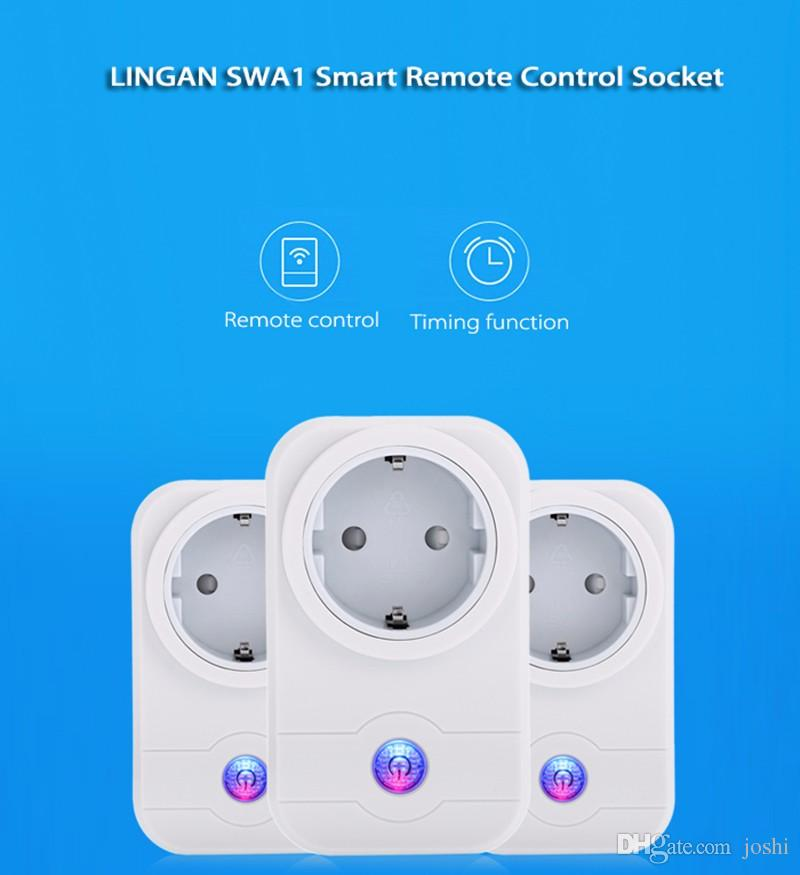 Hot Smart Plug wifi Power Timer Socket Cellphone Wireless Remote Control Switch Home Automation for Andriod IOS Smartphone US EU UK
