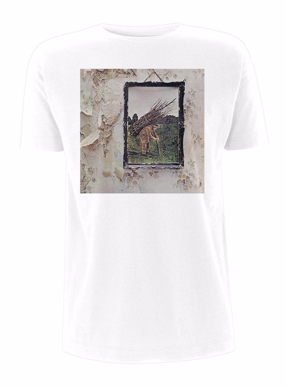 98cc9eaad Led Zeppelin  IV Album Cover  T Shirt NEW Design Tee Shirts T Shirt Funny  From Bi4u