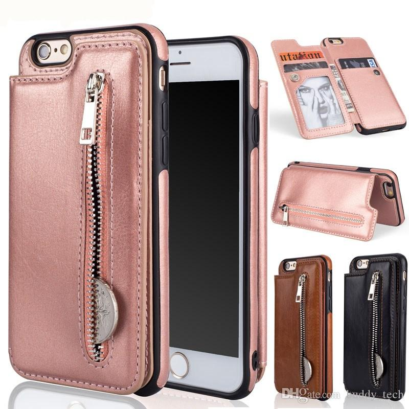 e821bb293dc For Coque Iphone 6 Case Wallet Phone Cases TelefoonHoesje Iphone 6S Case  Leather Flip Back Cover For Funda Iphone 6 6S Plus Case Wholesale Cell Phone  Cases ...
