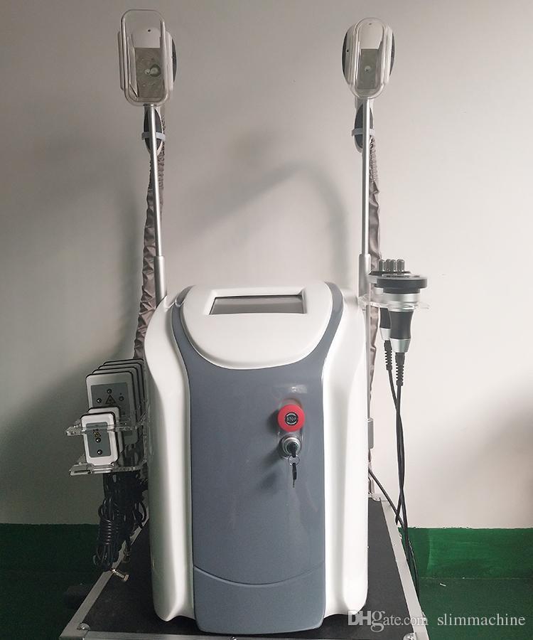 2019 Neue tragbare cryolipolysis Liposuktionsfett Einfrieren abnehmen Maschine Kryotherapie Ultraschall RF Gesichtsbehandlung Lipo-Laser-Maschine