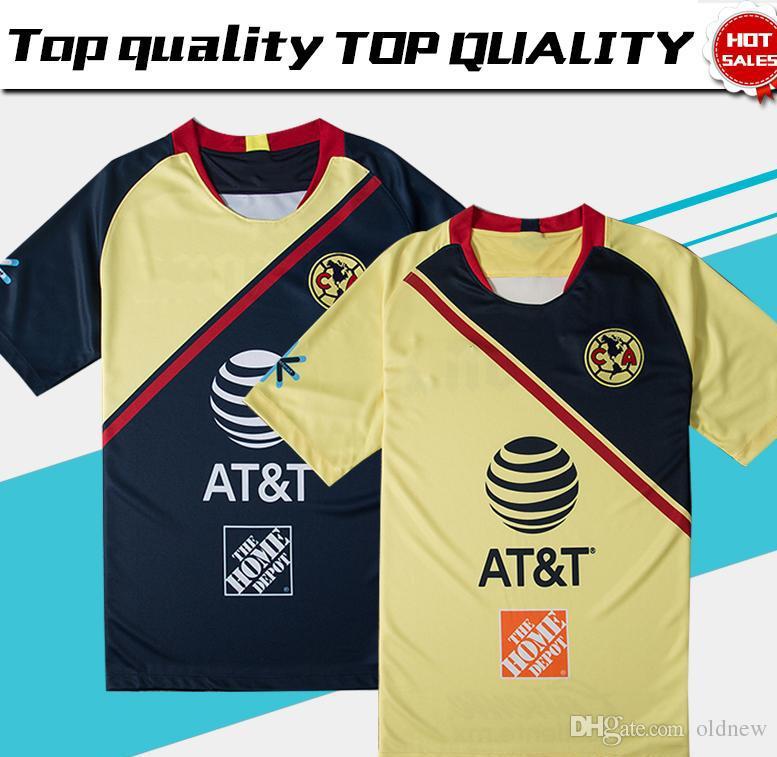 ba8985bdf8b 2019 2019 Club De Futbol America Home Soccer Jersey 18 19 Club De Futbol  America Away Soccer Shirt Customized Mexico Club Football Uniform Sales  From Oldnew ...