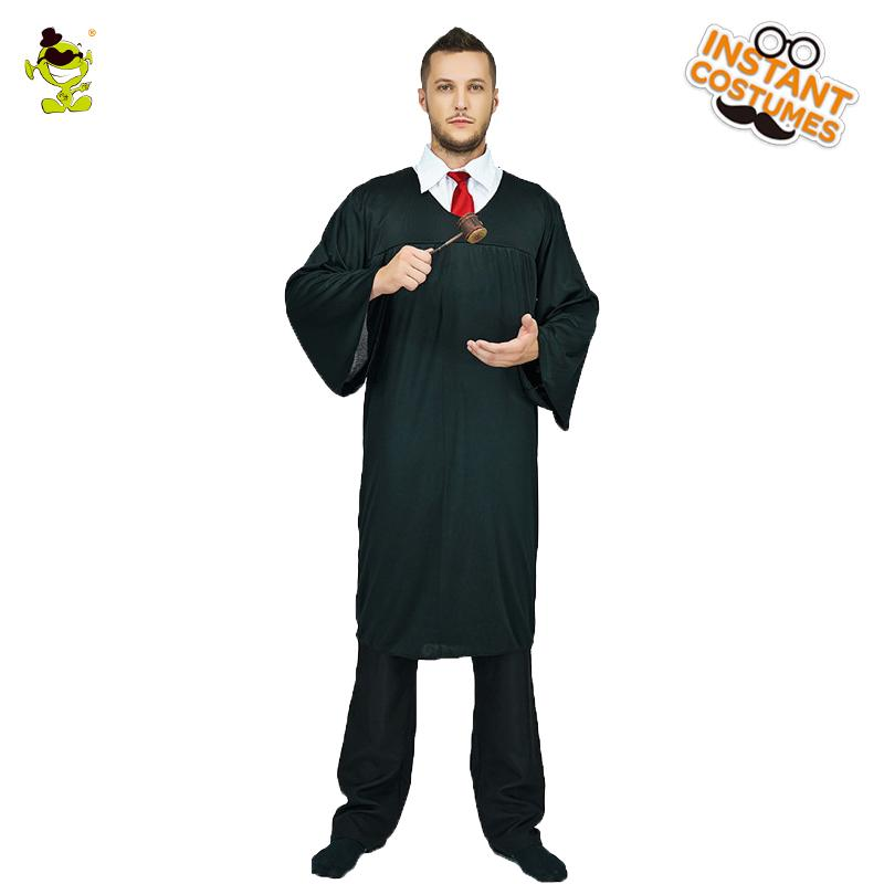 eeb6d069c6886 Judge Robe Costume Adult Mens Halloween Carnival Judge Role Play Fancy  Dress The Seven Deadly Sins VOCALOD Cosplay