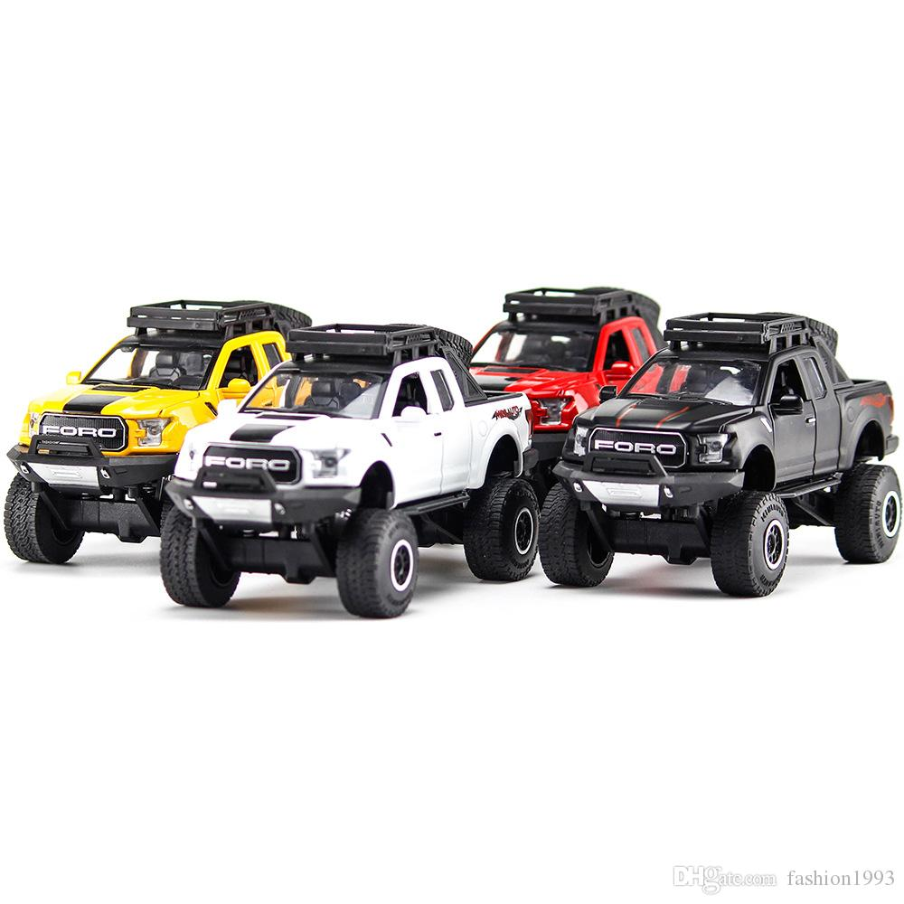 2019 Hot Big Wheels Toys Alloy Model Boutique Toy Car Raptor F150