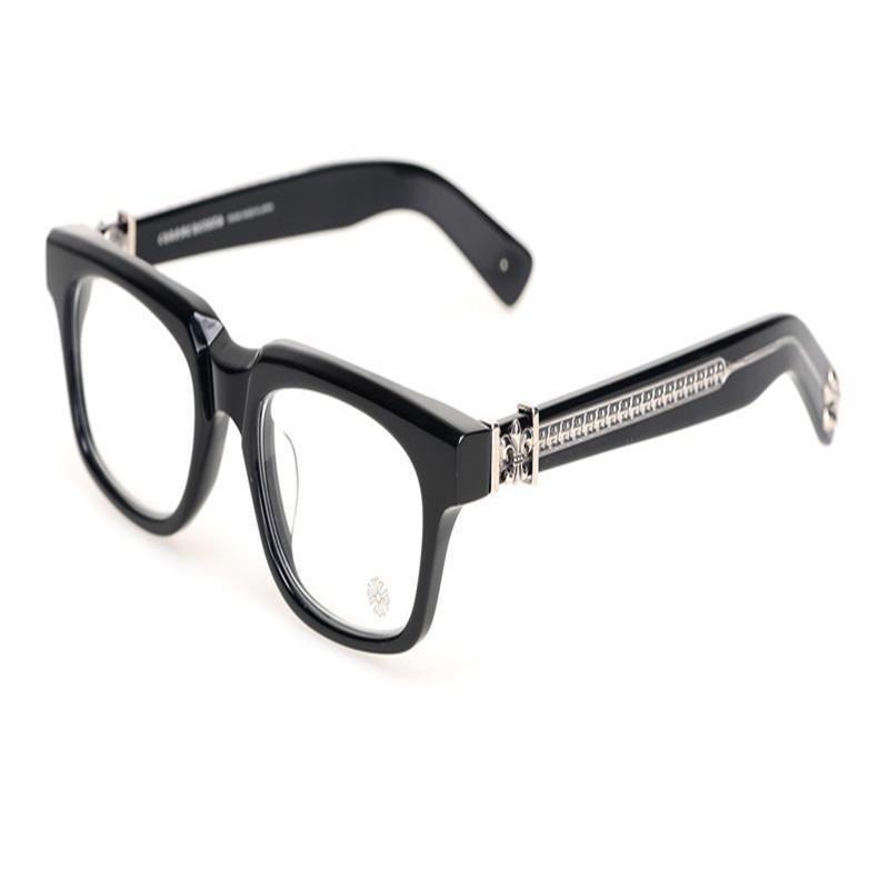 63cf5c3953 Fashion Unisex Acetate Full Rim Myopia Eyewear Frame Black Leopard ...