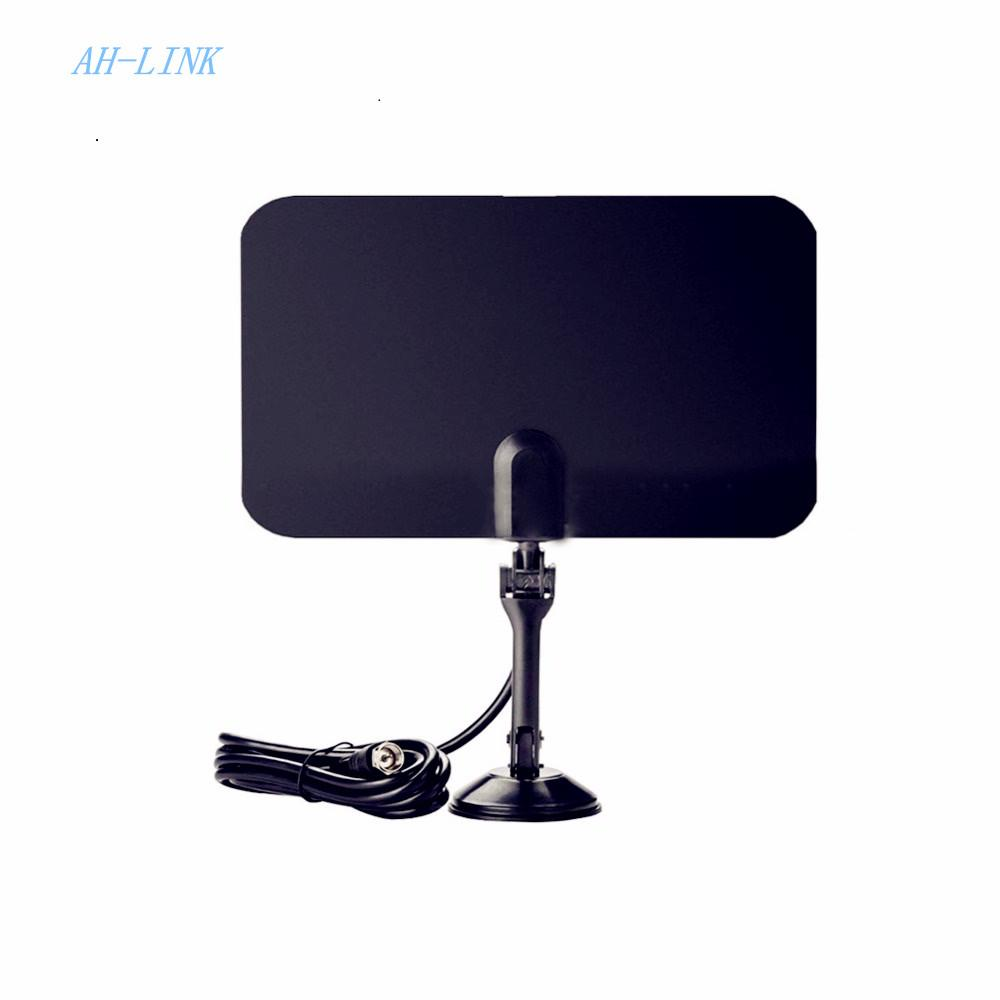 AH-LINK Interior Free TV antena Digital HDTV Antenna radius Aerial TV Surf  HD VHF UHF Analog Antennas Signal Amplifier