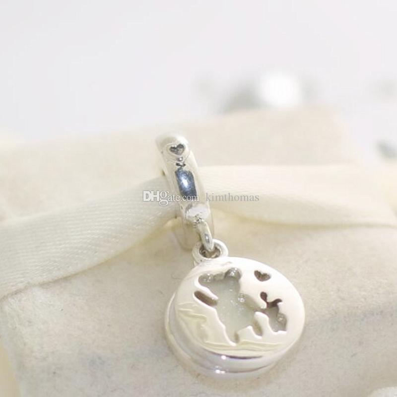 ed2c672ff 2019 925 Sterling Silver Perfect Pals Dangle Charm Bead Fits European  Pandora Style Jewelry Bracelets Necklace From Kimthomas, $19.8 | DHgate.Com