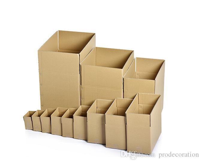 59dd21823e Acquista 21 * 11 * 14 CM 2 5 Strati Di Imballaggio Scatola Di Cartone  Scatola Di Cartone Imballaggio Al Dettaglio Accettare Personalizzazione Scatole  Di ...