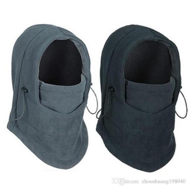 a6581a87f30 Winter Warm Hat Fleece Beanies Hats For Men Skull Bandana Neck Warmer  Balaclava Ski Snowboard Face Mask