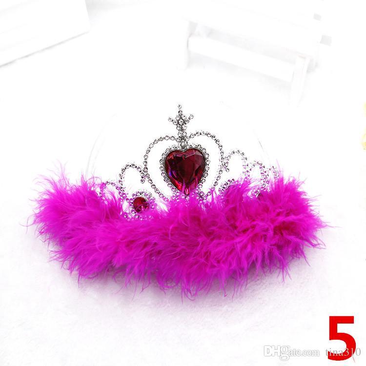 Copo de nieve cinta varitas conjunto corona varita de hadas niña fiesta de Navidad gema de nieve palos varitas mágicas diadema corona tiara colorido IB704