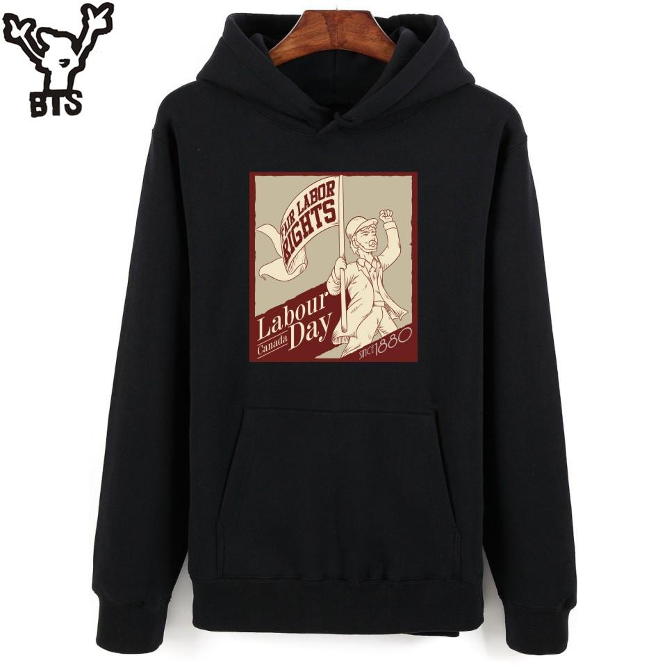 7edd80681e2 BTS Series Labour Day Casual Winter Dress Men Women Hoodie Sweatshirt With  Hat Sweatshirts with Hoodie Sweatshirt Men Hoodies Sweatshirts Online with  ...