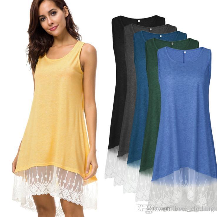 Women Girl Beach Fluorescence Summer Dress Hollow Back Chiffon Women ...