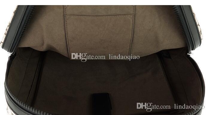 2018 Nuovo stile di marca zaino grande in vera pelle uomo zaino alta qualità in vera pelle uomo zaini designer marchio zaino in pvc