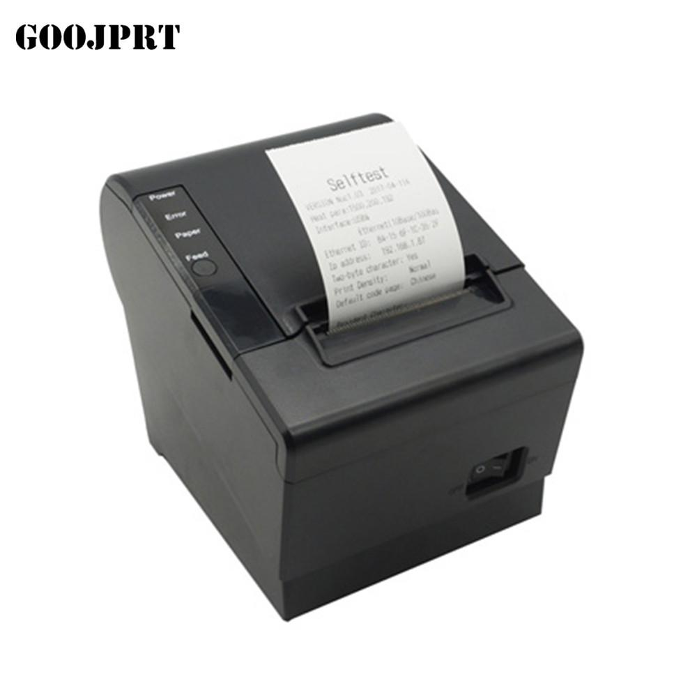 Free Shipping High Speed Ethernet Thermal Bill Receipt Printer With Auto  Cutter Support USB Interface 58 Download impressora