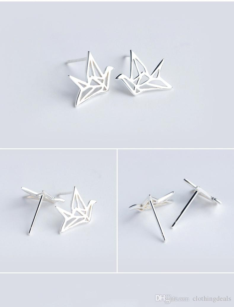 2018 Trendy Earrings Boho Brushed Bird Stud Earrings for Women Classic Animal Bird Women Earrings Jewelry Party Gift