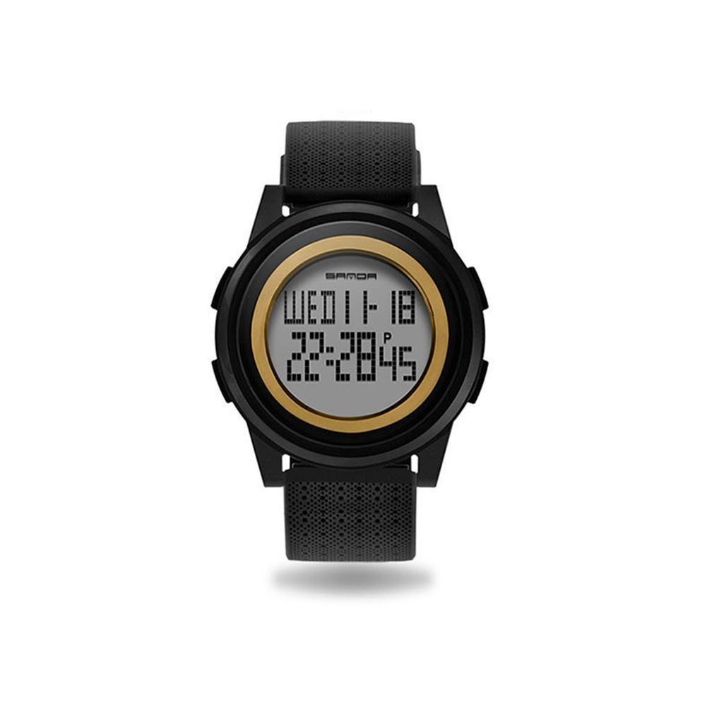 Armbanduhr Dial Display Runde Wasserdichte Männer Digital Sportuhr Slim Daily FclKTJ3u15