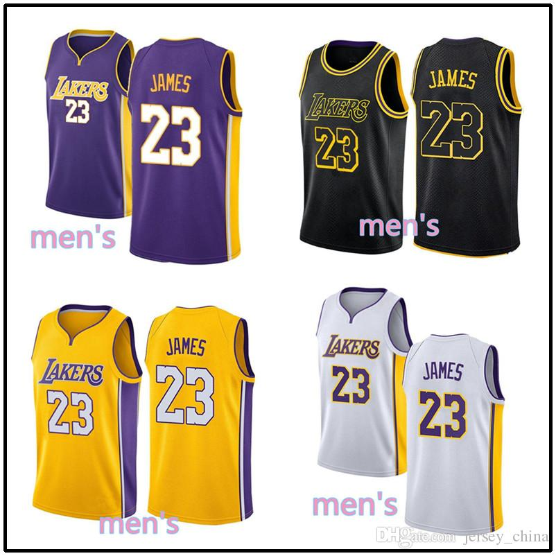 4eaf7f806 Quality 23 Lebron James Jersey Men 2018 New City Edition Embroidery ...