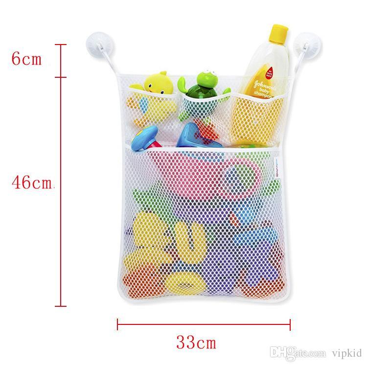 Детские сумки для ванной комнаты для хранения сумки для детей Игрушки для хранения сумки, включая крючки Бесплатная доставка Сделано в Китае