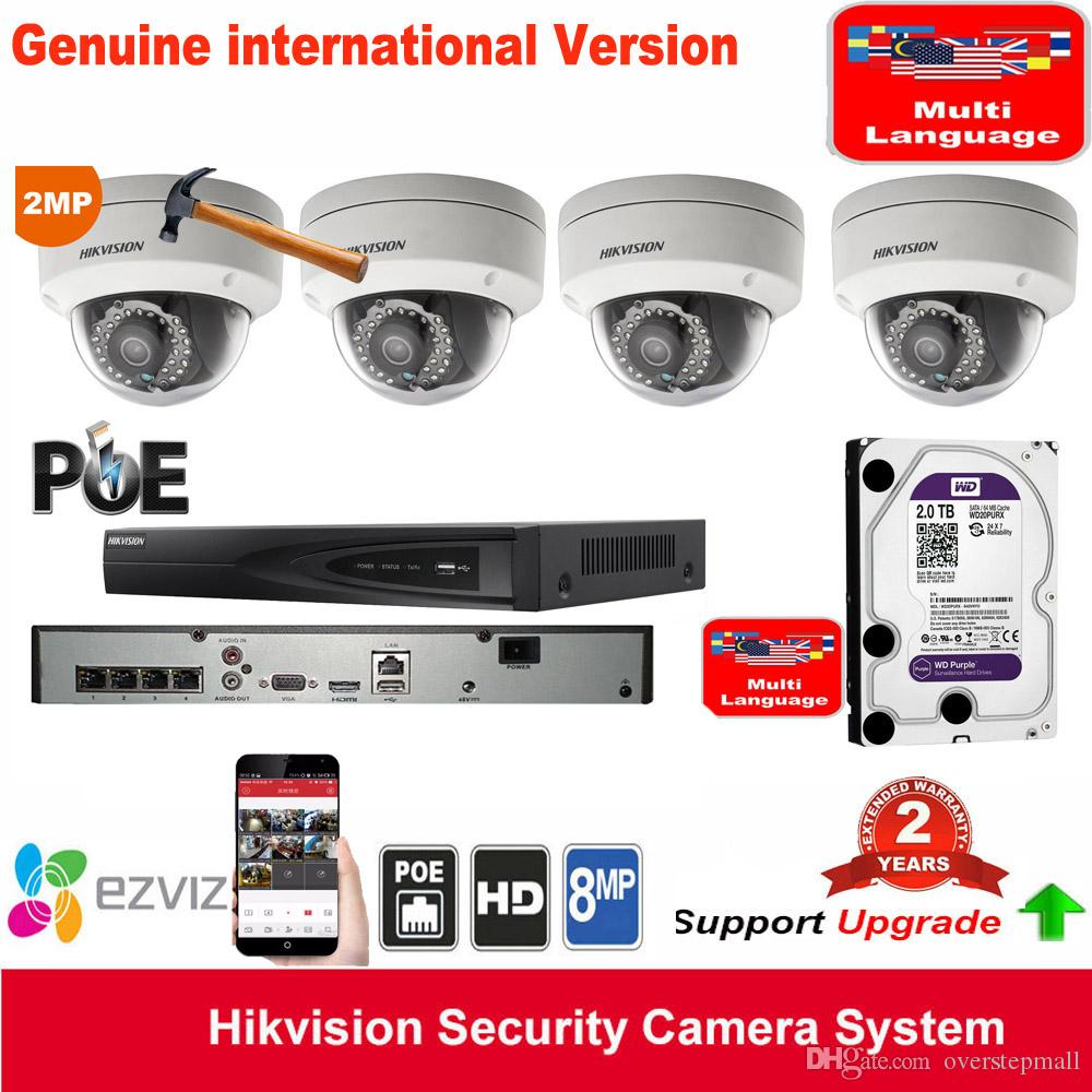 HIKvision DS-7604NI-E1/4P P2P 4ch POE Network Video Recorder with ...