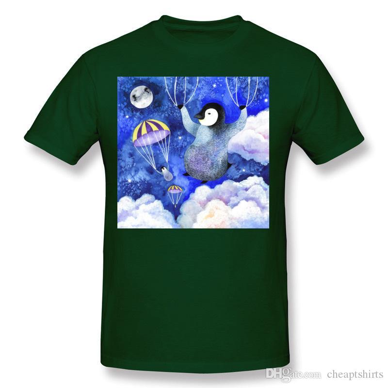 Best Sale Man Pure cotton Night Jumpers T-Shirt Man Round Collar Black Tee Shirts Short Sleeve Camisetas S-6XL Normal T-Shirt
