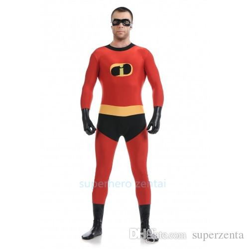 Newest Spandex Mr Incredible Costume High Elastic Fitted Supehero Costumes Cosplay/ Halloween Party Adult/Kids/Custom Made Good Costume Party Themes Group ...  sc 1 st  DHgate.com & Newest Spandex Mr Incredible Costume High Elastic Fitted Supehero ...