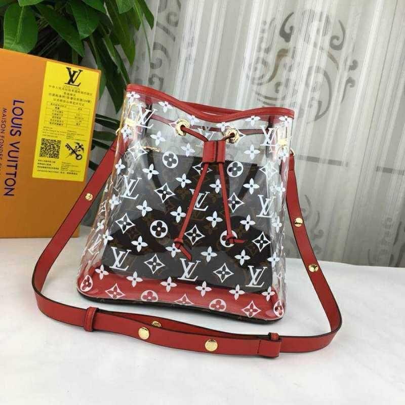 5a06eac53c40 Luxury Brand Bags 2018 Ladies Bag Shoulder Messenger Bag Lady Bag2 2018  Transparent Lady Bag Leather Wallet Luxury Handbag Brand Red Box Purses On  Sale Men ...