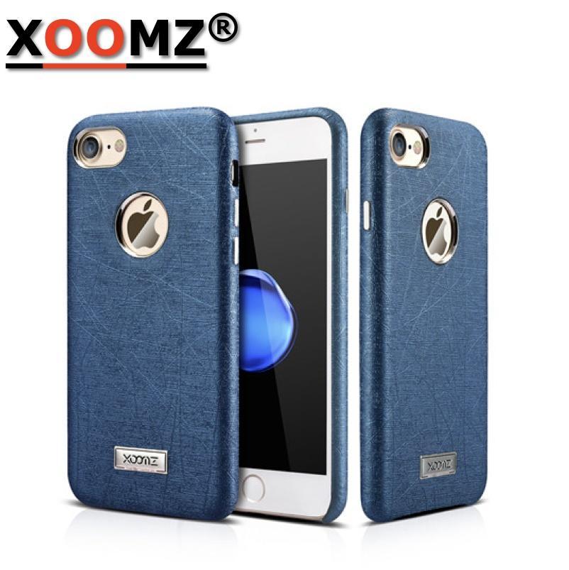 brand case cover for funda iphone 7 luxury silk grain soft fashion
