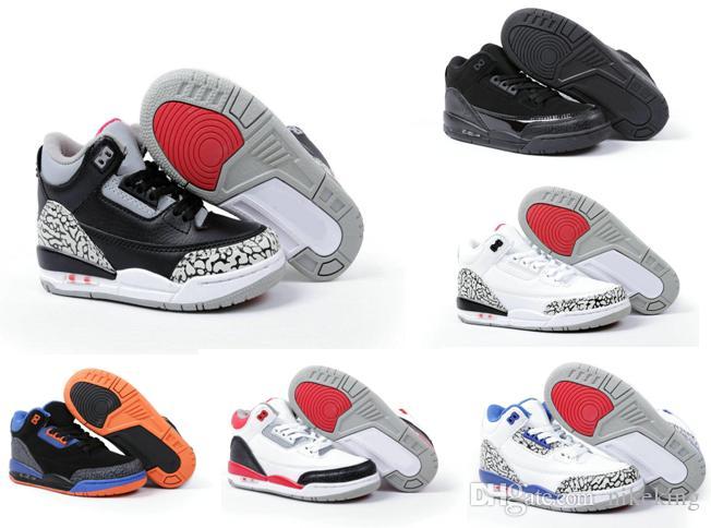 Compre Envío Gratis Zapatos Para Niños es Para Niños 3 III Zapatos De  Baloncesto Para La Venta 3 S Infantil Deportes Zapatillas De Deporte De Los  Niños ... 9315829b1e2
