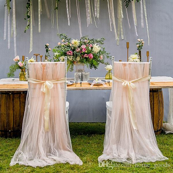 Amazing Wedding Chair Sashes Romantic Oceanfront Garden Wedding Chair Covers Back Sashes Bows Banquet Decor Xmas Birthday Wedding Favors Supplies Download Free Architecture Designs Scobabritishbridgeorg