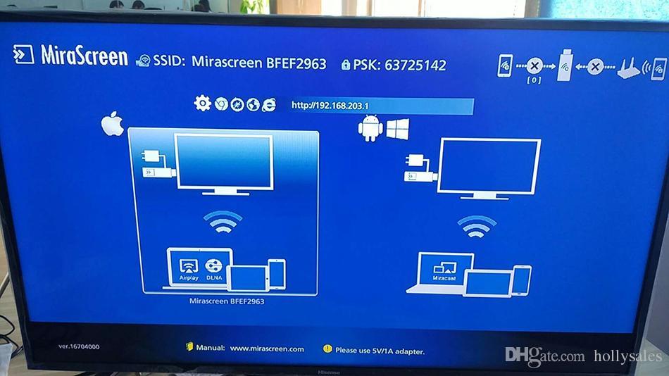 F1 F1-MX mirascreen bluetooth senza fili visualizzazione di wifi TV dongle ricevitore 1080P DLNA airplay facile saring HD TV stick android HDTV