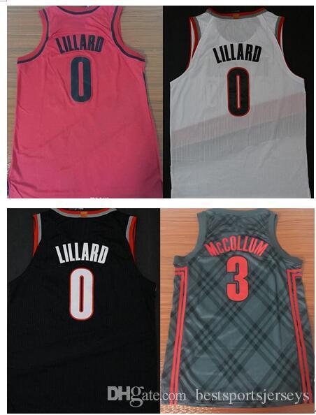 ... basketball jersey size  2018 2018 new style 0 damian lillard 3 cj  mccollum rip city all stitched jerseys size c5b4ec2c8