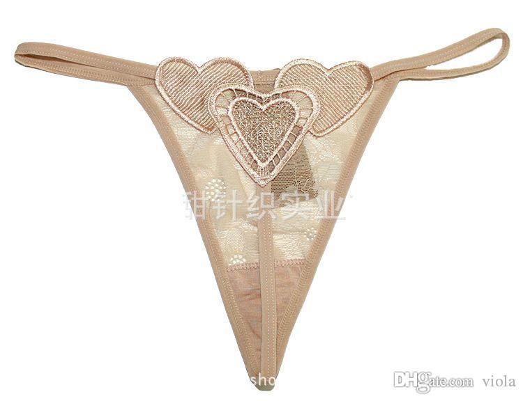 New Hot Coração Cintura Baixa G-string Lingerie Sexy Mulheres Calcinha Sexy Underwear Lady Thong Desgaste Íntimo
