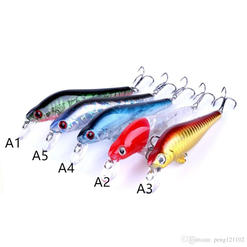 Hard Artificial Bait Minnow Streak Fishing Lures Bass Fresh Water Hook Diving Perch Wobbler Fish 10cm 11g Artificial Pesca