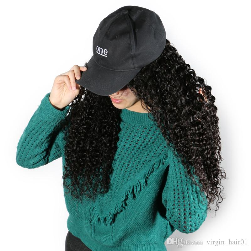 Deep Curly Human Hair Full Lace Wigs Curly Wavy Front Lace Wig Glueless Human Hair Wigs Peruvian Virgin Hair
