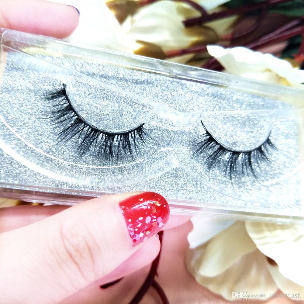 cils de vison beauté vison 3D MINK faux cils désordonné croix faux cils faux yeux maquillage professionnel cils