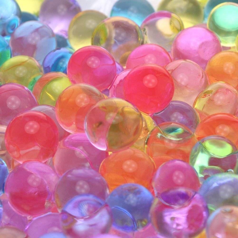 Водные Бусы Радуга Микс для Спа Refill Сенсорные Игрушки Хрустальные Шары Украшения Дома Подарок США доставка