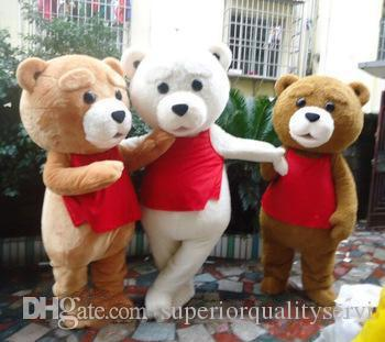2018 Factory direct sale tedy costume adult fur teddy bear mascot costume
