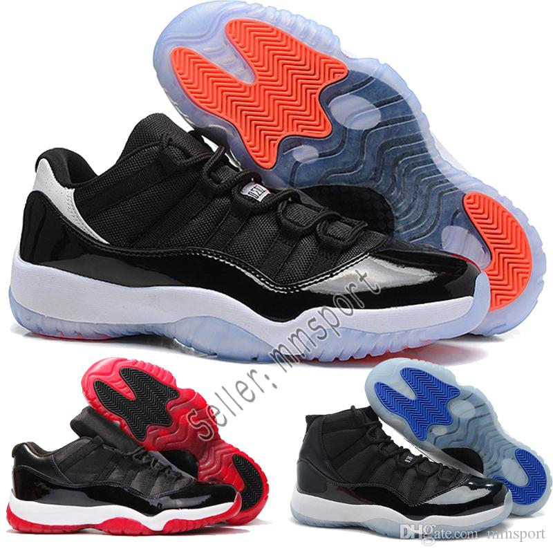 new concept ca232 d912a 2018 Cheap 11 Basketball Shoes Mens Bred Citrus Concord Bred Georgetown GS  High-top Sneakers Designer Low XI 11s For Men Women Size 41-47