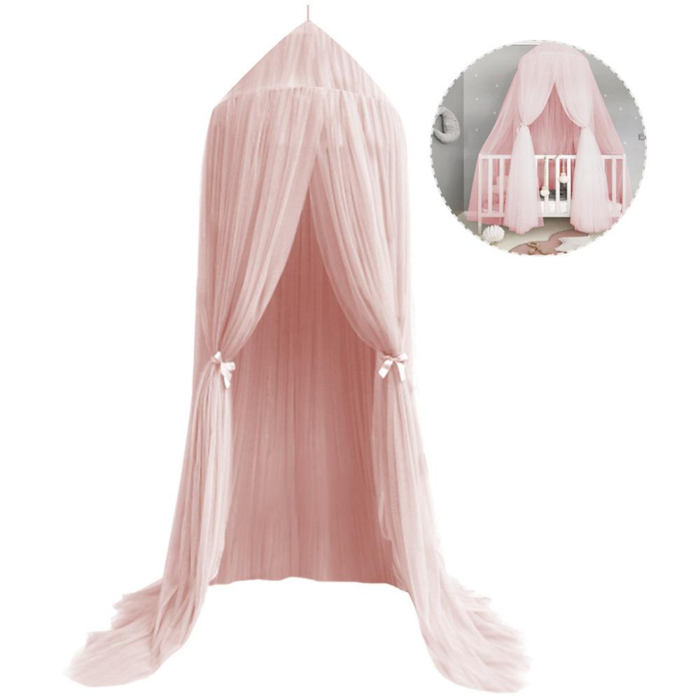 For Hammock Baby Kids Anti-mosquito Dome Fantasy Champion Net Curtain Play Tent Bed Canopy Mosquito Bed Bedding Round Lace Baby Bedding