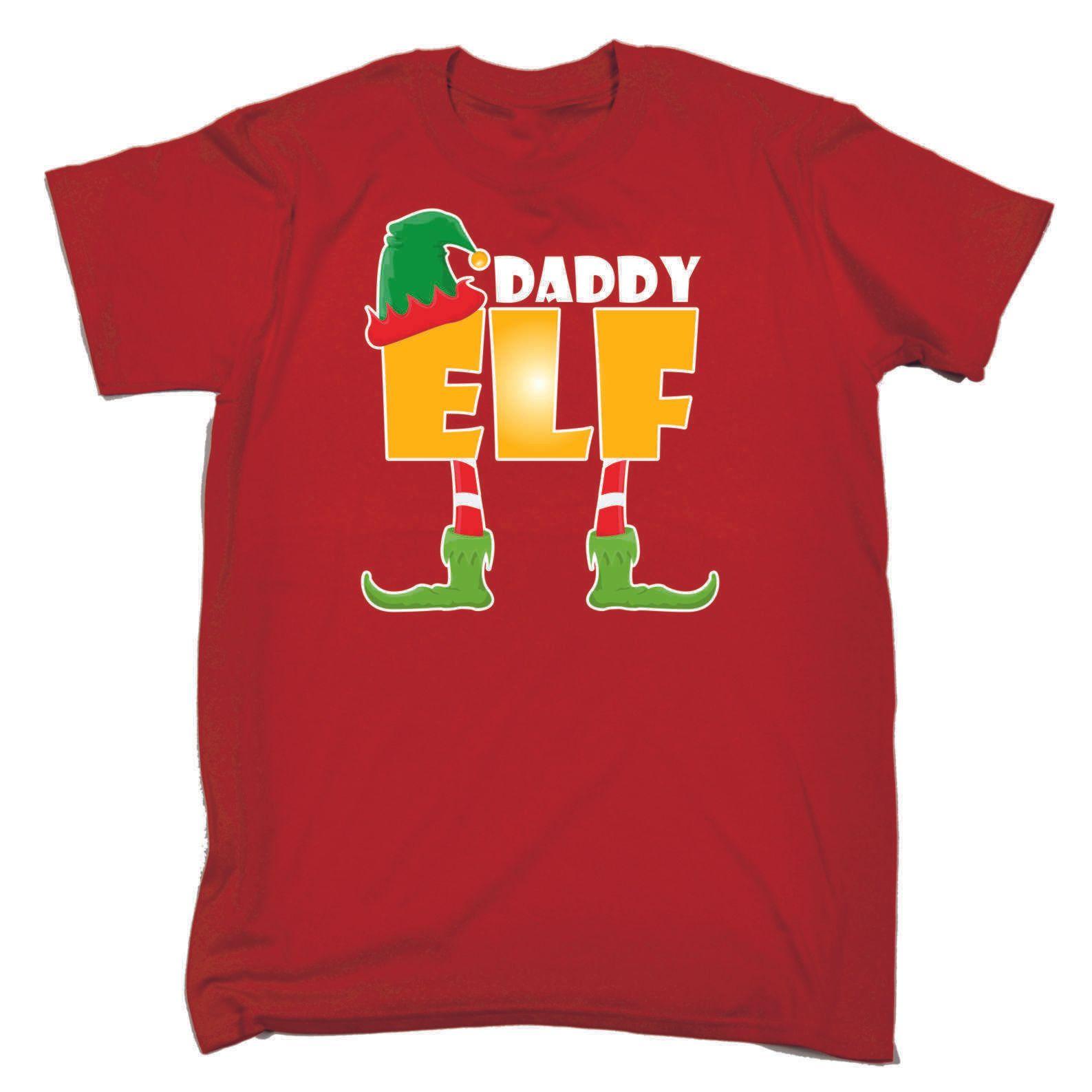 fd9757fbc2 ELF Family Christmas T Shirts Novelty Funny X Mas Day Red Loose Fit T Shirt  Og T Shirt T Shrt From Notkillape, $11.01| DHgate.Com