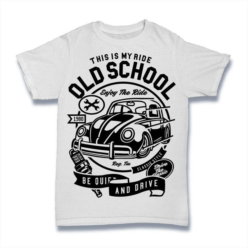 THIS IS MY RIDE T Shirt OLD SCHOOL BEETLE ENJOY THE RIDE S-3XL Funny free  shipping Unisex Casual gift