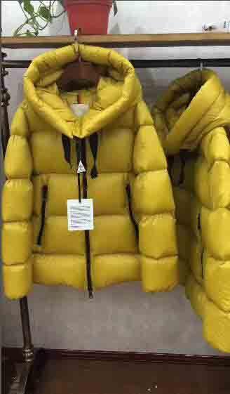 fce1efd240a99 Satın Al Kadın Kışlık Mont Bayan Giyim Için% 90 Ördek Aşağı Ceketler Serin  Puffer Coat Hood Aşağı Ceket Soğuk Günler Sıcak Işık Kat Sarı Siyah Tutmak,  ...
