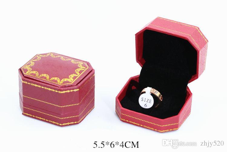 Modemarke Titan Stahl Roségold Liebe Ring Silber Liebhaber Ring Schraubendreher Hochzeit Schmuck Geburtstagsgeschenk für Frauen Männer Ringe