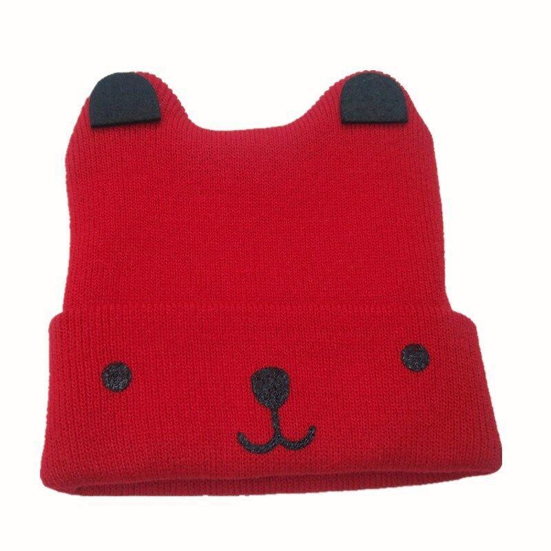 8dd4b49169c7 2019 2018 Warm Winter Solid Baby Hat Bonnet Enfant Kids Baby Boy Girl  Infant Cotton Soft Warm Hat Beanie Toca Infantil From Cutport