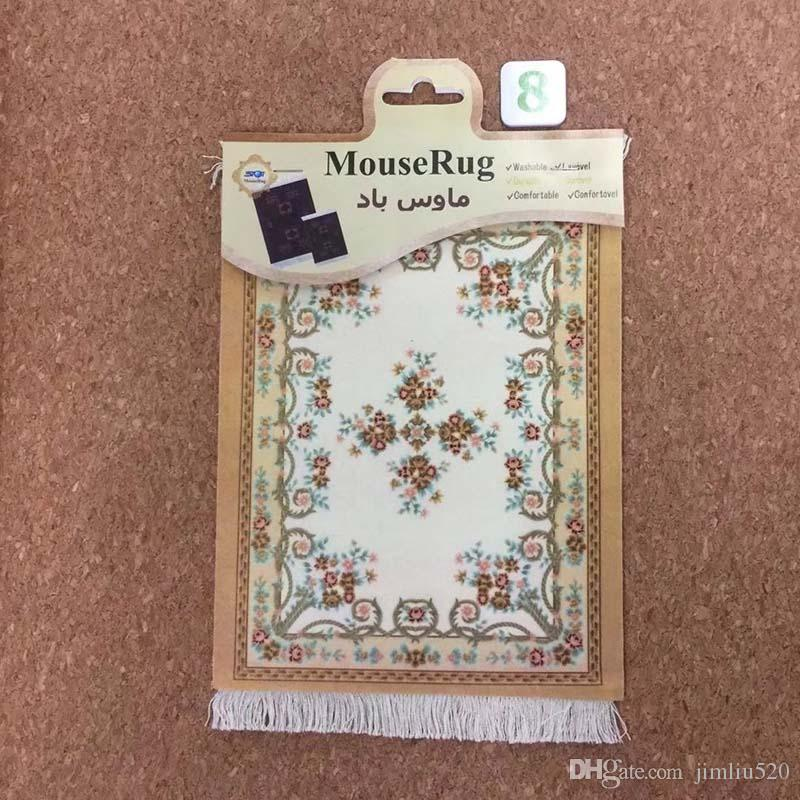 Persian carpet mouse pad 27X18CM rubber anti-slip color mat wholesale for game csgo tank world speed version