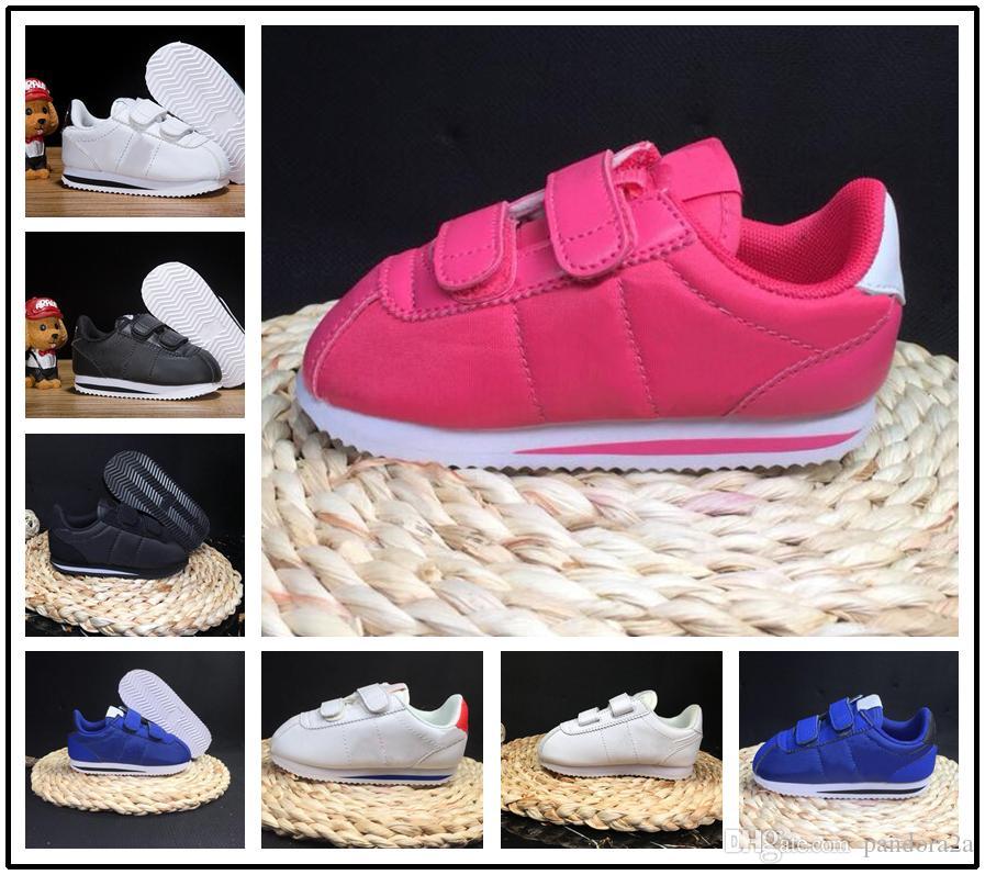 3f5c17bdd31 Compre Nike Cortez 2018 Brand Kids Sneakers Niños Zapatos Deportivos  Zapatillas Para Niños Zapatillas Niñas A $56.86 Del Pandora2a | DHgate.Com
