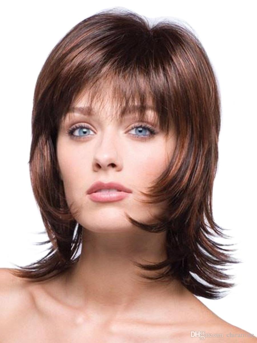 Womens Synthetic Hair Wig Natural Color All Match Fashion Alice